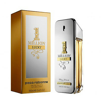 1 MILLION LUCKY de PACO RABANNE  - Colonia / Perfume EDT 100 mL - Hombre / Man