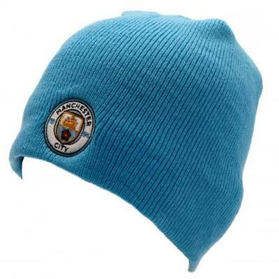 Manchester City Fc Man Knitted Hat Winter Beanie One Size SK