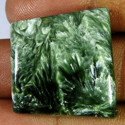 50.15ct100% Natural green seraphinte fancy Cabochon loose gemstone