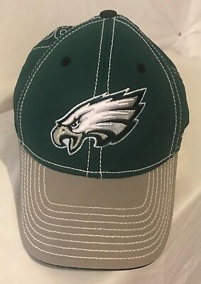 PHILADELPHIA EAGLES REEBOK Cap Hat NFL Onfield Equipment size L   XL ... 1fdf711d6