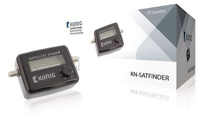 Konig Satellite Finder Audible Indication Measuring Tool