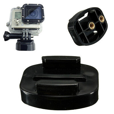 Amazing Quick Release Tripod Mount Adapter for GoPro HD Hero 4 3+ 3 2 1 NN
