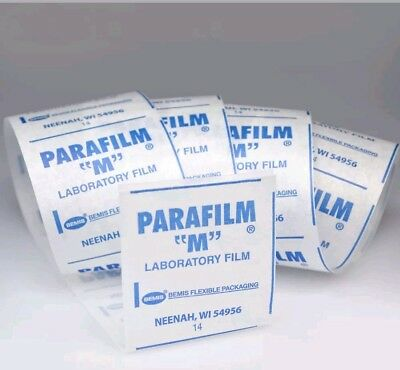 "Parafilm M Roll All-purpose laboratory film, 4"" x 10'  used for grafting"