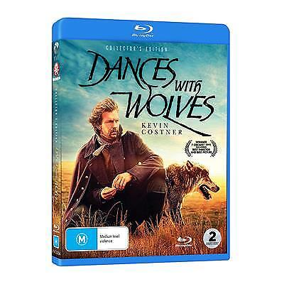 Dances With Wolves : Collector's Edition (Blu-ray, 2018) (Region B) New Release