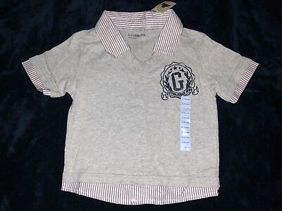 NWT Baby Gap Boys Polo T-Shirt Top Layered 12-18 Months SELLING TONS!!!