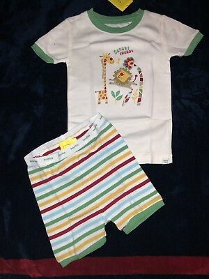NWT Baby Gap Boys Safari Friends 2pc Pajamas 18-24 Months SELlING TONS!!!