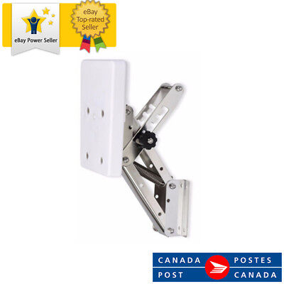 White Heavy Duty Stainless Steel Outboard Motor Bracket Up To 25hp From Canada!