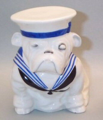 Super Rare Royal Doulton Medium Sailor Bulldog  6193  Excellent Condition