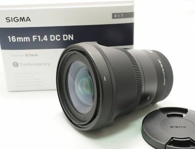 Mint Sigma 16mm F1.4 DC DN for Sony E mount shipping from Japan