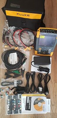 Fluke435-II Power Quality and Energy Analyzer Set with Probeswith Carrying Case