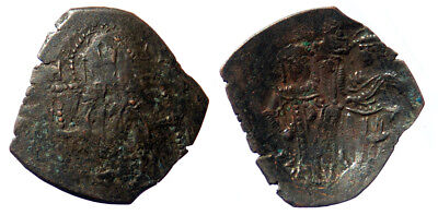 Latin rulers of Constantinople AE Trachy Hendin Type G