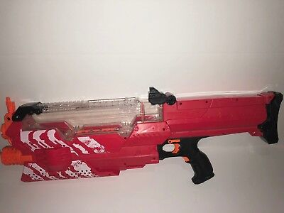 Nerf Rival Nemesis MXVII-10K Red Slightly Used No Ammo Balls Batteries Included