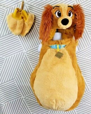 disney store lady and the tramp dog halloween costume size 18 24 months girl boy