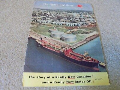 Vintage Spring1954 The Flying Red Horse Magazine SOCONY-VACUUM Oil Co. Mobil