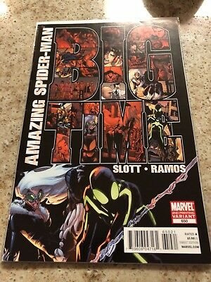 Amazing Spider-Man #650 (2011 Marvel) - 2nd Print Variant 1st App Stealth Suit