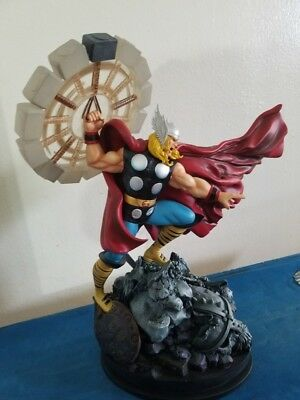 Marvel collectible  Thor classic action statue by Randy Bowen.