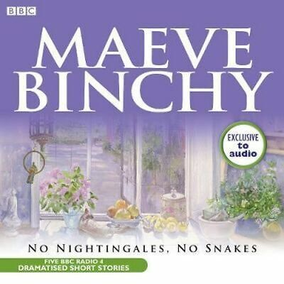 NEW No Nightingales, No Snakes By Maeve Binchy Audio CD Free Shipping