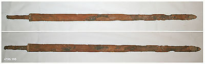 Ancient Chinese  Han Dynasty excavated iron sword Jian - rare