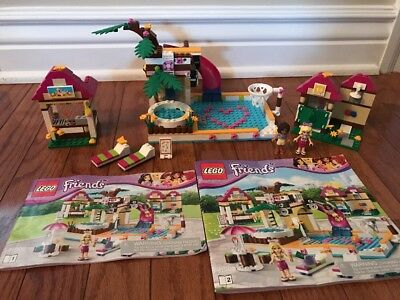 Lego Friends Heartlake City Pool 41008 Complete With Instructions
