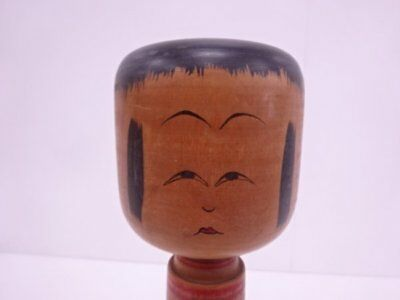 Kokeshi japanese traditional crafts JAPAN toy rare beutiful F/S*