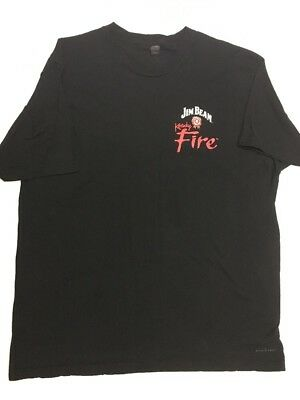 Jim Beam Kentucky Fire T-Shirt Extra Large.