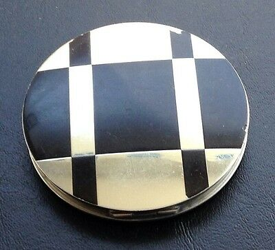 Vintage Art Deco Compact Mirror 1940's Vanity Collectible Made in Germany