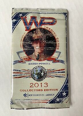 Boy Scouts of America National Jamboree 2013 Baden-Powell WP Trading Cards Pack