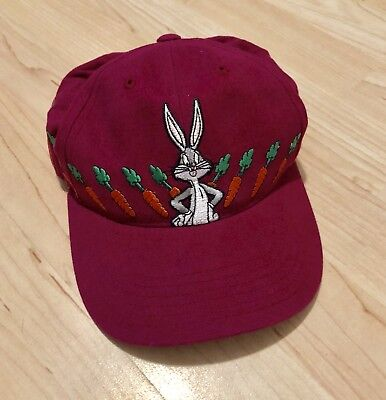 Vintage 1998 Looney Tunes Bugs Bunny Youth Adjustable Baseball Cap