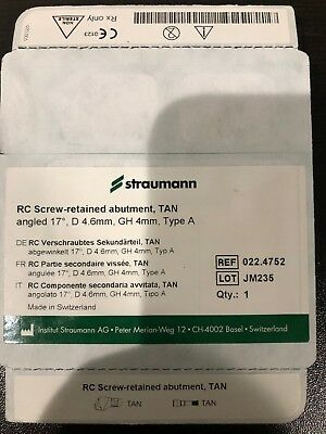 Straumann RC Screw-Retained Abutment 4mm Abutment for #29