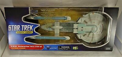 Star Trek U.S.S. Enterprise NCC-1701-B Battle Damage Starship Art Asylum