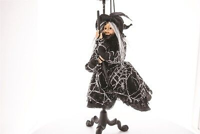 Victorian Trading Co Halloween Salem Kitchen Witch Figurine Doll