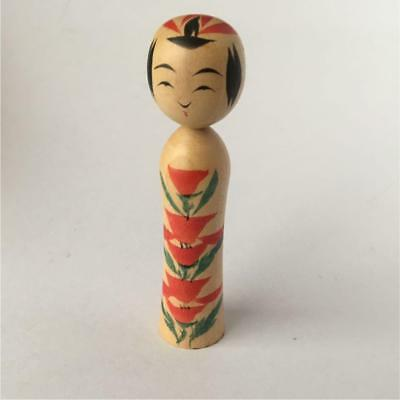 Kokeshi old Japanese traditional craft cute rare popular vintage beauty F / S!
