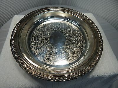 "1865c.12"" W.S.Blackinton Silverplate Serving Dish"