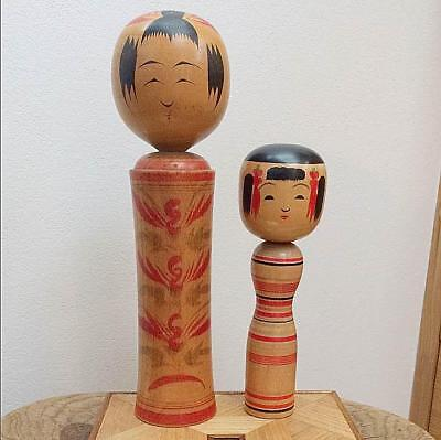 Kokeshi Japanese traditional craft cute rare popular vintage retro showa F / S!