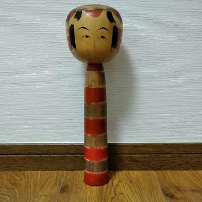 Kokeshi Japanese traditional craft cute rare popular 29cm retro beauty F / S!