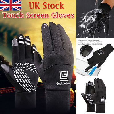 Sport Neoprene Waterproof Touch Screen Thermal Gloves Mittens Winter 4 Size Gift