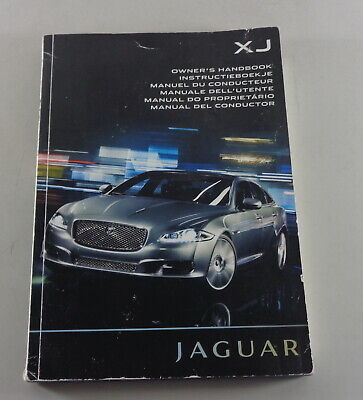 Owner's manual Jaguar XJ Typ X351 from 2009