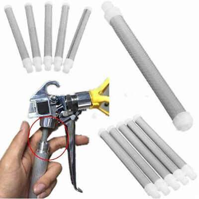 60 Mesh airless paint spray gun filter screen elements for wagner airless