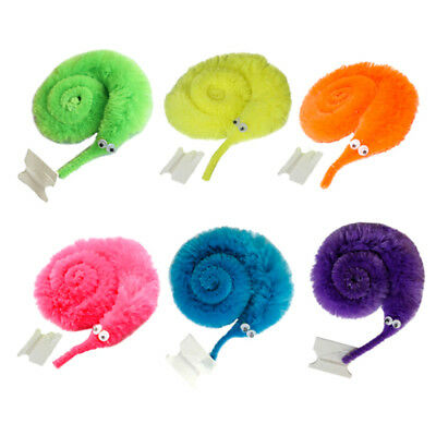 2Pcs funny magic twisty worm fuzzy and soft cute toy