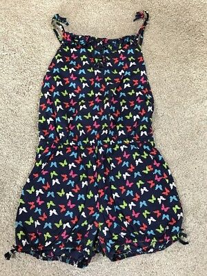 M&S Butterfly Playsuit Aged 6 Years