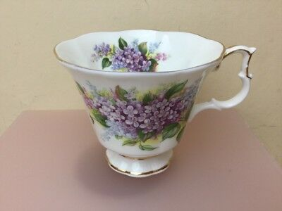 Royal Albert Blossom Time Series Lilac Replacement Tea Cup Only Superb Condition