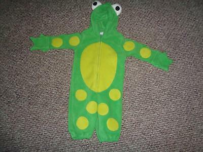 Celebration Halloween Old Navy Baby Frog Complete Costume Size 6-12 mos