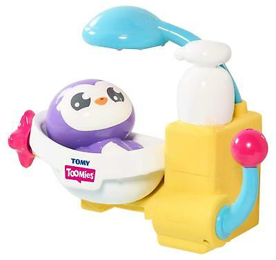 Tomy Toomies Peryn's Penguin Shower Scrub Bath Toy - Suitable for 18 months plus