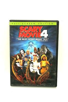 DVD Movie SCARY MOVIE 4 Carmen Electra Charlie Sheen in Original Jacket