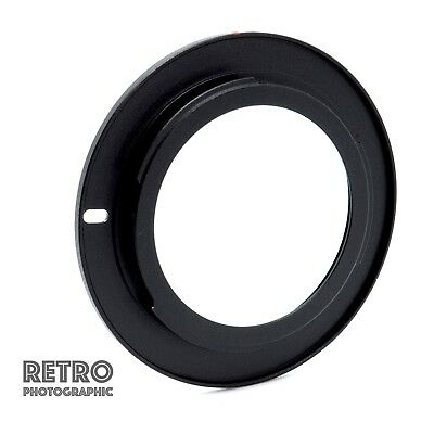 M42-AI M42 Screw Fit Lens to Nikon AI F Mount Adapter Ring Flanged - UK Stock
