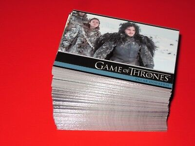 GAME OF THRONES SET Season 3 TV SHOW 98 Trading Cards Base Set 2014 Rittenhouse