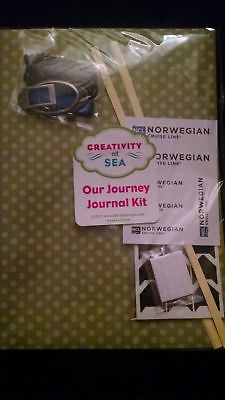 Creativity at Sea / Our Journey Journal Kit / Norwegian Cruise Line