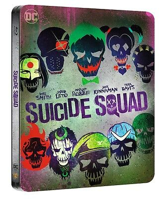Suicide Squad: Extended Cut - Steelbook (Blu-ray) (2 disc) Atmos multi language