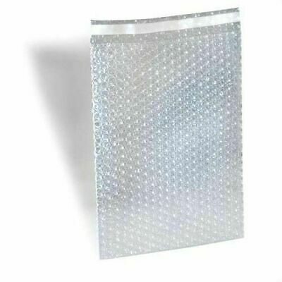 """Bubble Out Padded Mailers 4"""" x 5.5"""" Clear w/ High Adhesive Seal Strip 7500 pcs"""