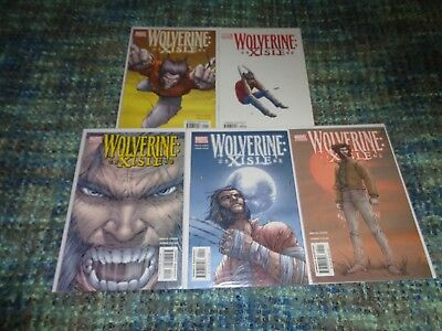 WOLVERINE XISLE #1-5 COMPLETE SET BRUCE JONES & JORGE LUCAS 2003 Marvel NM/MINT